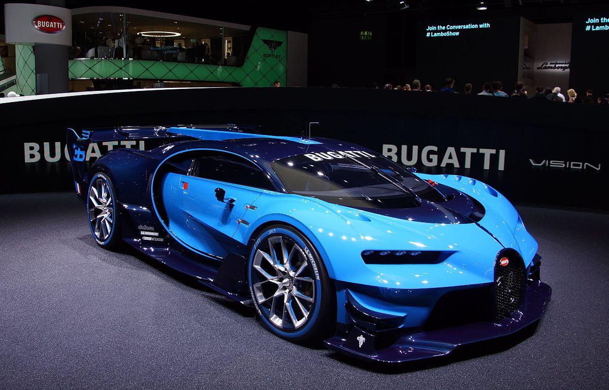 automobiles ettore bugatti bugatti vision gran turism grand turismo chiron reflection. Black Bedroom Furniture Sets. Home Design Ideas