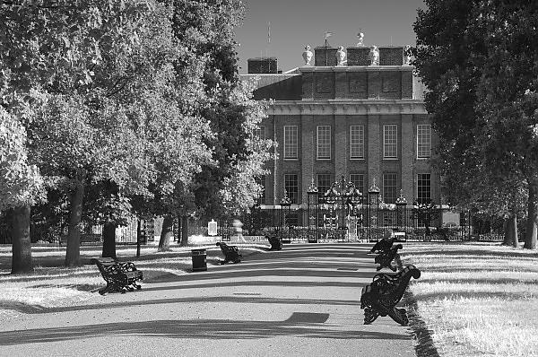 UK, London, Kensington Gardens, Kensington Palace
